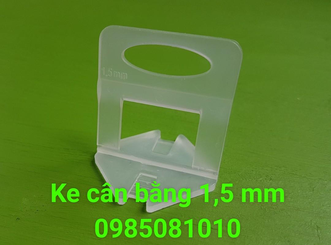 ke nhựa cân bằng ốp lát 1,5mm
