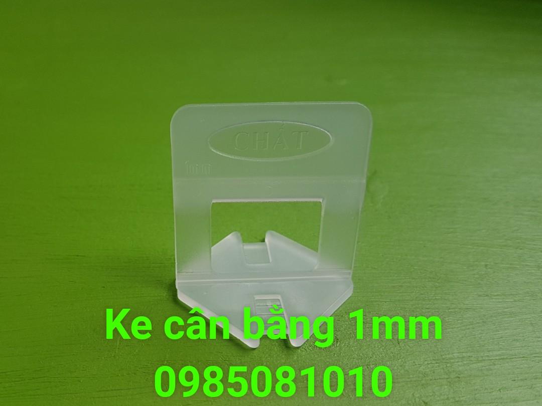 Ke nhựa cân bằng ốp lát 1mm