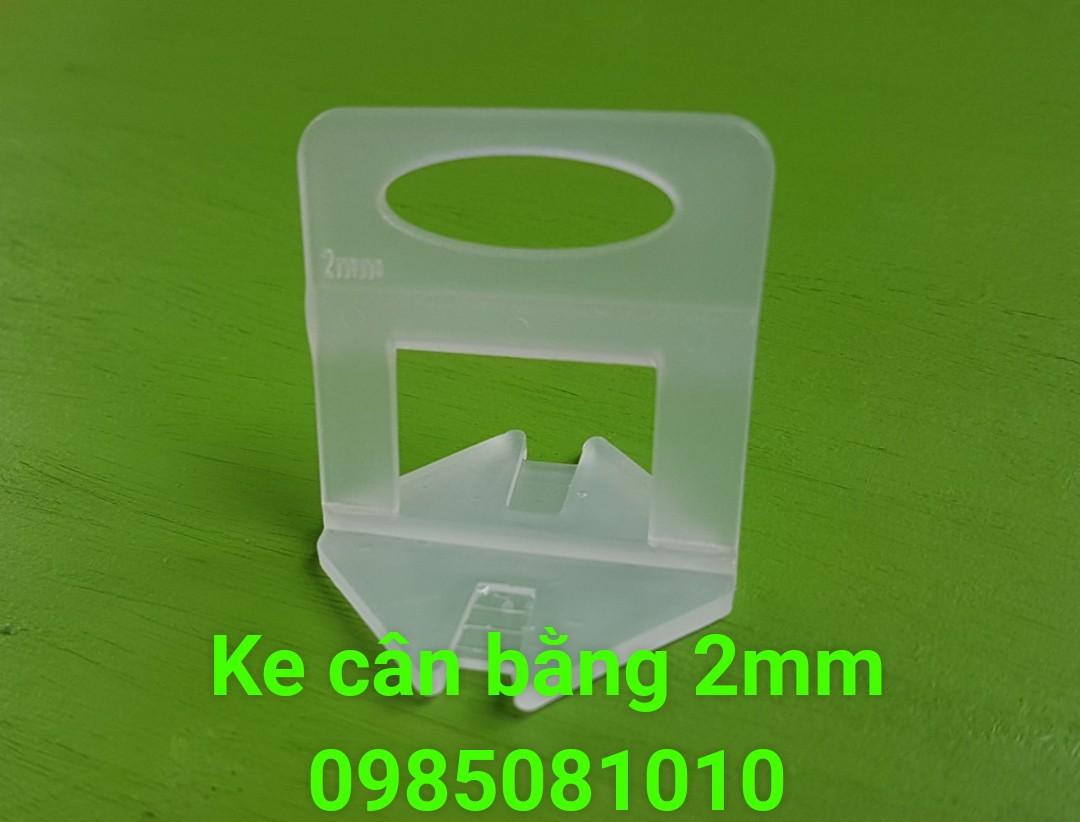 ke nhựa cân bằng ốp lát 2mm
